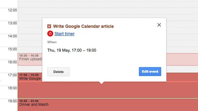 پیگیری زمان های صرف شده در تقویم گوگل